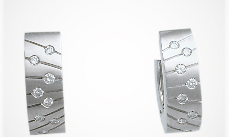 Wider Hinged Earrings