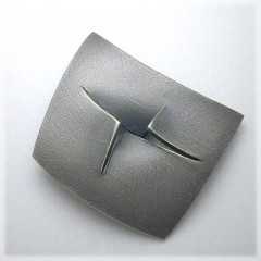 Sliced Sterling Pin