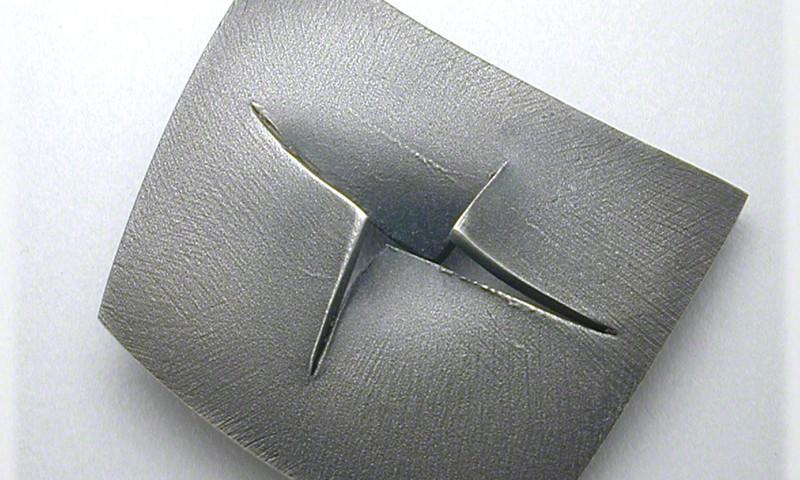Sliced Sterling Pin