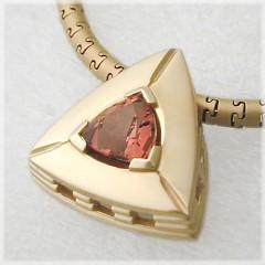 Michelle Soft Triangle Pendant