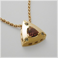 Soft Triangle Pendant